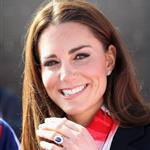 Catherine, Duchess of Cambridge meets with the GB HockeyTeam at the Riverside Arena in the Olympic Park on in London, England 108909