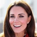 Catherine, Duchess of Cambridge meets with the GB HockeyTeam at the Riverside Arena in the Olympic Park on in London, England 108919