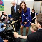 Catherine, Duchess of Cambridge visits The Treehouse Children's Hospice in Ipswich, England 109189