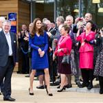 Catherine, Duchess of Cambridge visits The Treehouse Children's Hospice in Ipswich, England 109197