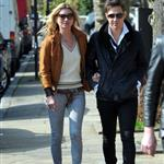 Kate Moss and Jamie Hince leaving their new North London 109403