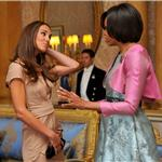 "Prince William and Catherine ""Kate"" meet President Obama and First Lady Michelle at Buckingham Palace 85894"