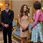 "Prince William and Catherine ""Kate"" meet President Obama and First Lady Michelle at Buckingham Palace 85908"