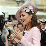 Catherine, Duchess of Cambridge at a garden party at Buckingham Palace 115894