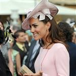 Catherine, Duchess of Cambridge at a garden party at Buckingham Palace 115895