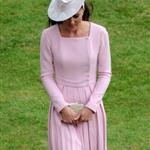 Catherine, Duchess of Cambridge at a garden party at Buckingham Palace 115900