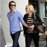 Kate Winslet and boyfriend Ned Rocknroll hand in hand at San Francisco Airport 96393
