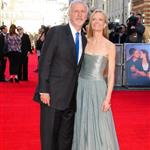 James Cameron and wife Suzy Amis in London at the Titanic 3D premiere 109970