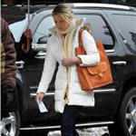 Katherine Heigl on the set of New Year's Eve to replace Halle Berry 78139
