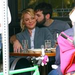 Katherine Heigl has lunch with husband Josh Kelley and her mother at Little Dom's 110146