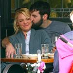 Katherine Heigl has lunch with husband Josh Kelley and her mother at Little Dom's 110148
