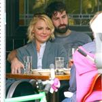 Katherine Heigl has lunch with husband Josh Kelley and her mother at Little Dom's 110149