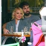 Katherine Heigl has lunch with husband Josh Kelley and her mother at Little Dom's 110150