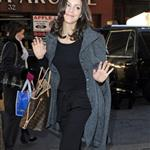 Katherine McPhee arrives at The Today Show 106110