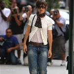 Katie Holmes glam butch in NYC 23248
