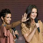 Halle Berry, Katie Holmes, and Queen Latifah attend Oprah farewell event at the United Center 85799