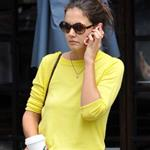 Katie Holmes runs errands in New York 122147