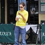 Katie Holmes runs errands in New York 122148