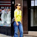 Katie Holmes runs errands in New York 122152