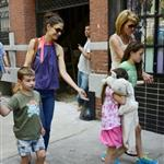 Katie Holmes out with Suri and friends in New York 119856
