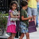 Katie Holmes out with Suri and friends in New York 119862