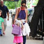 Katie Holmes out with Suri and friends in New York 119866
