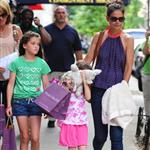 Katie Holmes out with Suri and friends in New York 119867