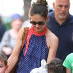 Katie Holmes out with Suri and friends in New York 119869