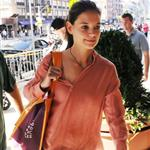 Katie Holmes out shopping in New York today 119874