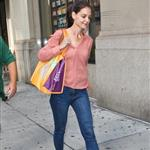 Katie Holmes out shopping in New York today 119877