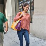 Katie Holmes out shopping in New York today 119880