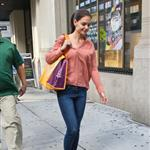 Katie Holmes out shopping in New York today 119886