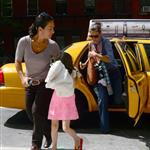 Katie Holmes and Suri go to Children's Musuem of the Arts in NYC 120006