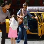 Katie Holmes and Suri go to Children's Musuem of the Arts in NYC 120007