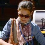 Katie Holmes and Suri go to Children's Musuem of the Arts in NYC 120008