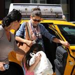 Katie Holmes and Suri go to Children's Musuem of the Arts in NYC 120009