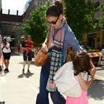Katie Holmes and Suri go to Children's Musuem of the Arts in NYC 120012