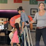 Katie Holmes and Suri go to Children's Musuem of the Arts in NYC 120016