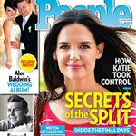 Tom Cruise/Katie Holmes People Magazine cover 120235