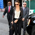 Katie Holmes arrives to Lincoln Center for Holmes & Yang fashion show as part of Mercedes-Benz Fashion Week 125928
