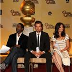 Katie Holmes Josh Duhamel Blair Underwood at Golden Globe nomination announcement 74878