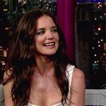 Katie Holmes on The Late Show with David Letterman 98339