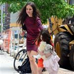 Katie Holmes and Suri Cruise out in New York 120834