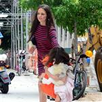 Katie Holmes and Suri Cruise out in New York 120836