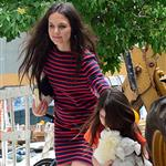 Katie Holmes and Suri Cruise out in New York 120837