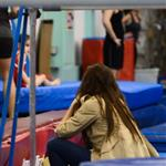 Katie Holmes and Suri Cruise at gymnastics class in New York 120843
