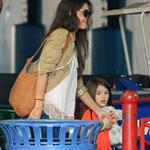 Katie Holmes and Suri Cruise at gymnastics class in New York 120846