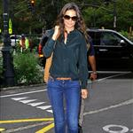 Katie Holmes heading to Chelsea Piers for Suri's gymnastics class in NYC 121285