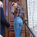 Katie Holmes out in New York in high waisted jeans  63757