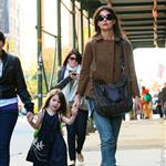 Katie Holmes has a girls weekend with Isabella and Suri in NYC 51064